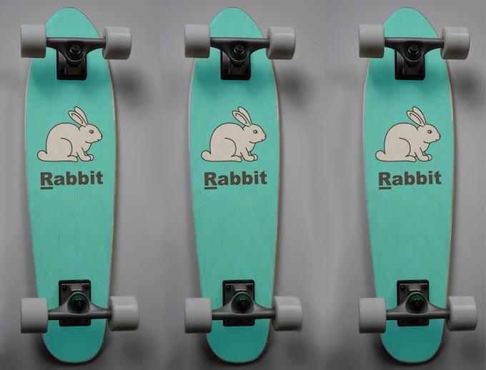 Rabbit deck graphic