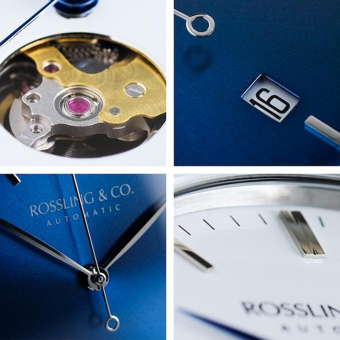 Metropolitan Automatic dial details