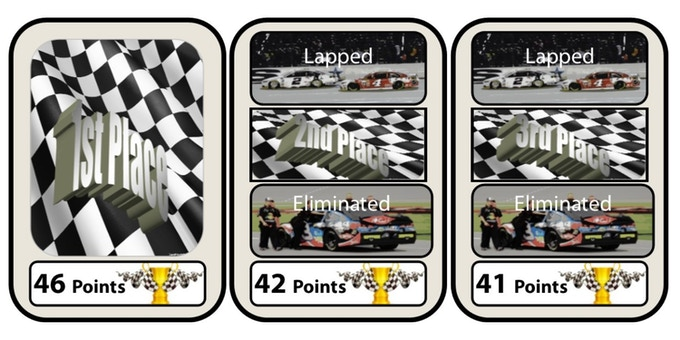 RACE TO THE FINISH CARDS!