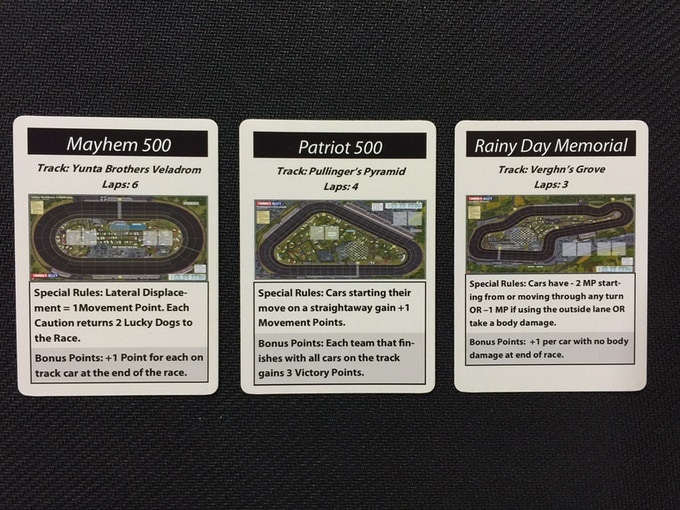 TRACK CARDS!