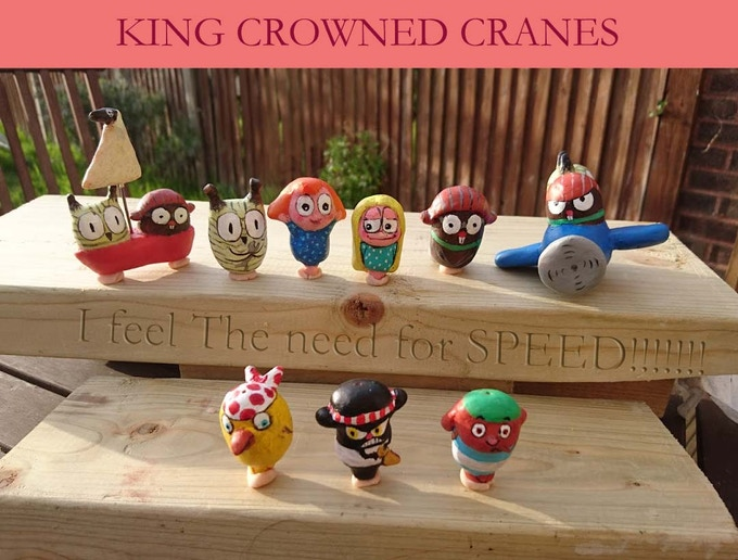 Extended Collections of characters including a plane and a pirate ship