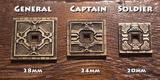 Dwarven Tower coins, back