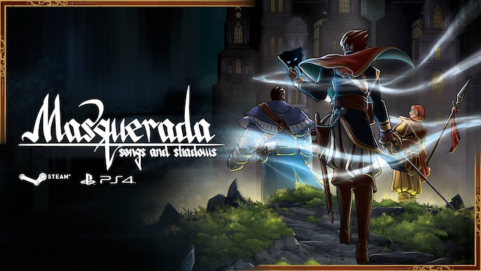 We're adding the final touches to this fully voiced pause-for-tactics RPG, where magical masks & deception rule. Now available on Windows, macOS, PlayStation 4 and Xbox One, with Nintendo Switch coming soon!