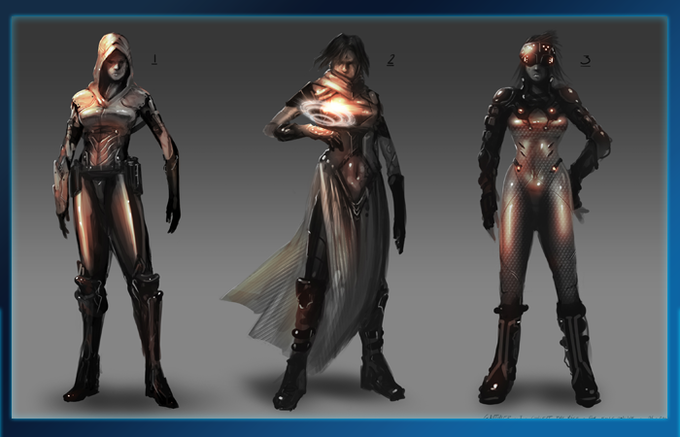 Psi Angel Outfit Concepts.