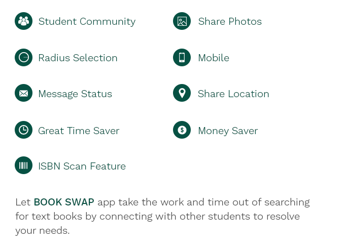 BOOK SWAP APP | LOWERING THE COST OF ACQUIRING TEXT BOOKS by Danny