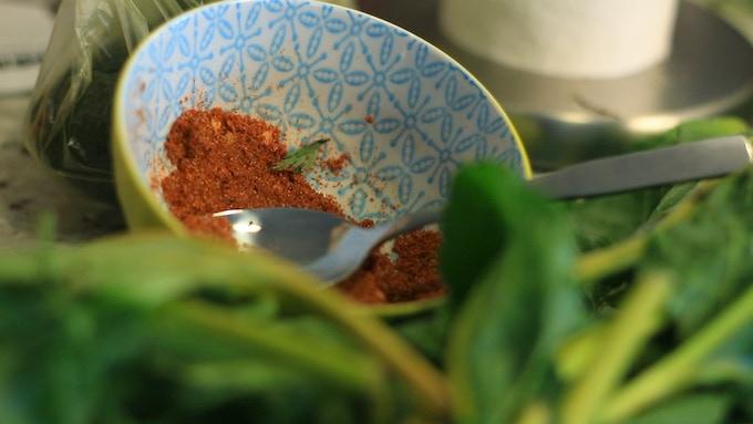 Tibetan chili powder