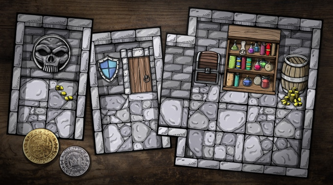 3 rooms of the dungeon