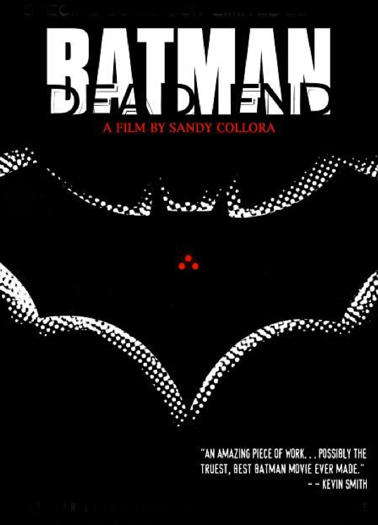 """Batman Dead End"" One of Sandy's first shorts, shot in 2003, which remains to this day, one of the most downloaded and controversial short films ever made."