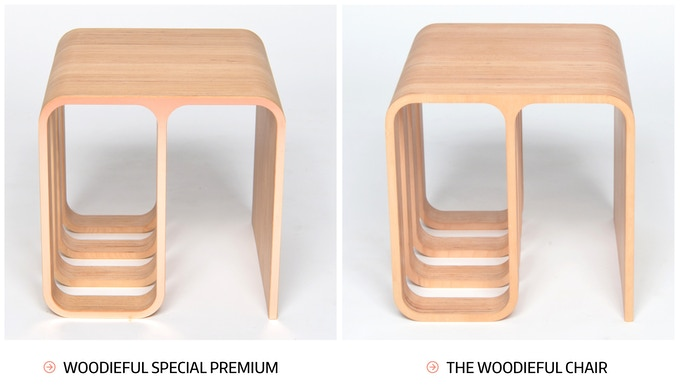 Comparison: Woodieful Special Premium & The Woodieful Chair