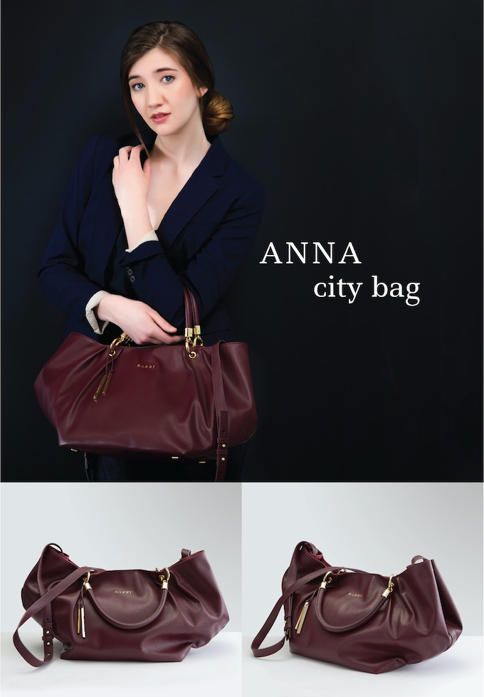 ANNA CITY BAG: Perfection in a bag. Lush wine-red vegan leather that feels utterly divine. Accented with gold hardware and featuring a rich burgundy colored interior. See rewards section for more details.