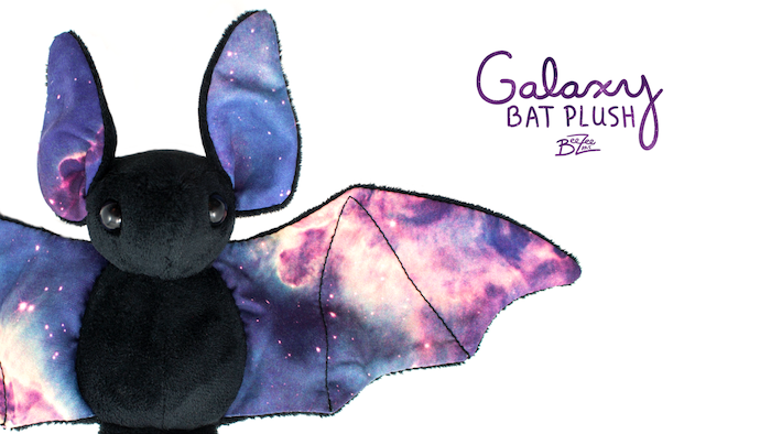Thanks for all your support! Galaxy bats are now available from my website in black and there are pre-orders for white and purple!