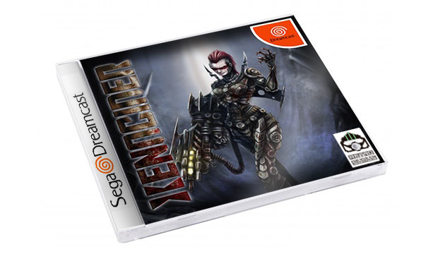 Xenocider for Dreamcast regular edition mockup. Please note this is not representative of the final cover artwork!