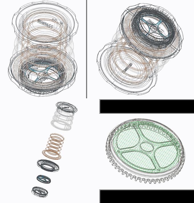 [Original draft designs of Cafflano® Kompact]