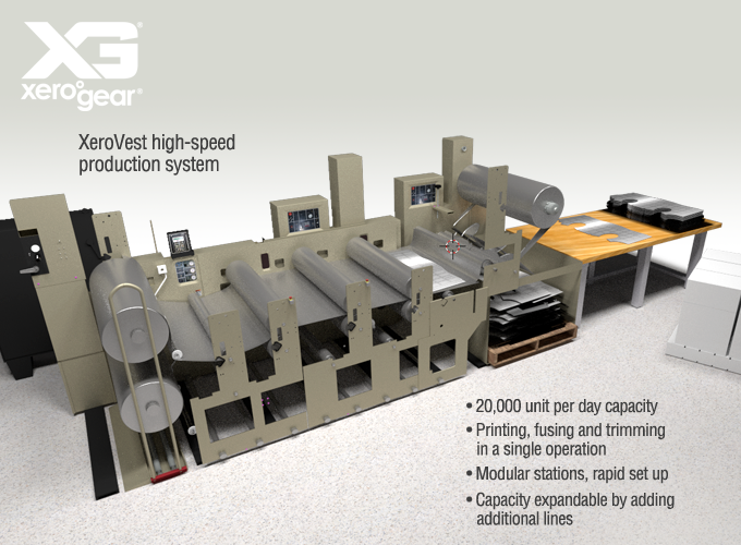HIgh-speed production system layout