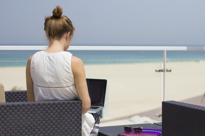 The digital nomad lifestyle, work from anywhere in the world.