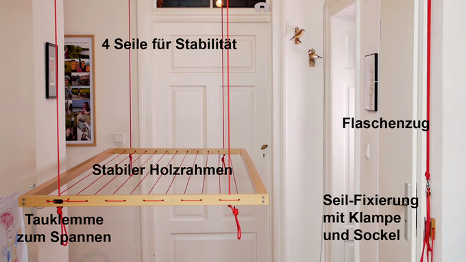 hangbird a drying rack that liberates your living space by samuel kutter kickstarter. Black Bedroom Furniture Sets. Home Design Ideas