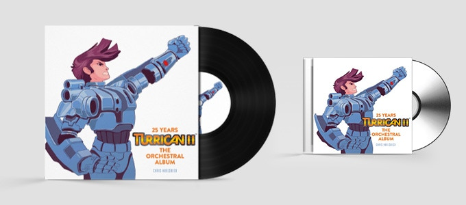 Mock-up examples for the Collector's Edition CD and Double Vinyl