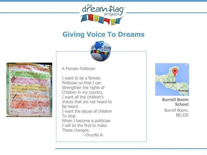 Click for more sample Dream Flags.