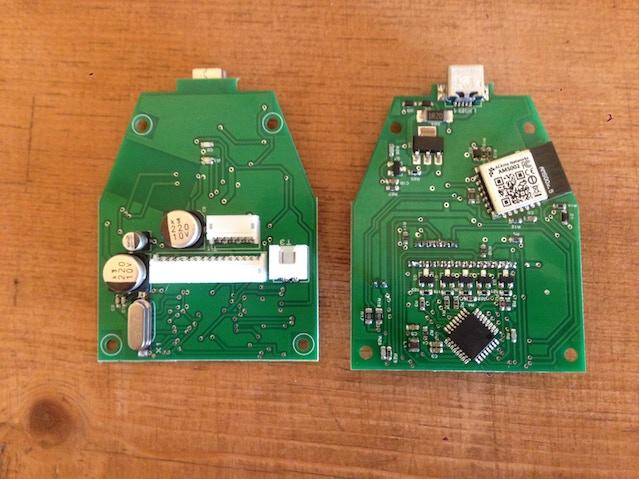 A PCB sample.