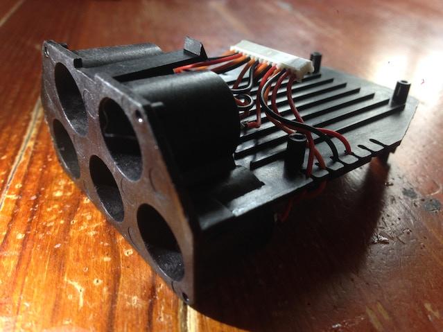 Control Pod internal assembly.