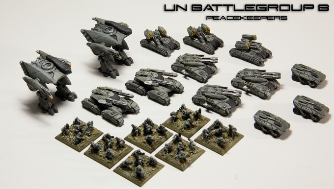"UN Battlegroup B ""Peacekeepers"" (Click to Enlarge)"