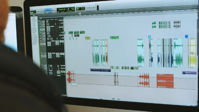 ProTools session for 'Meredith Monk: Creation as Spiritual Practice'