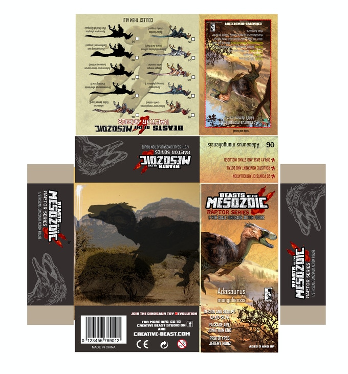 'Adasaurus package layout'