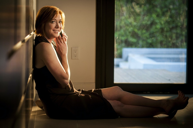 Alyson Hannigan stars in DO YOU TAKE THIS MAN. Photo by: Andrew Hreha © Modern Love, LLC.