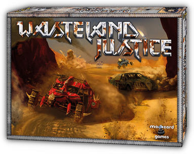 Wasteland Justice Game Box