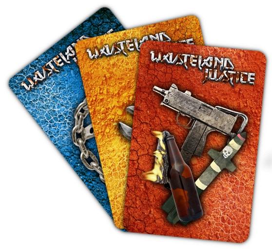Wasteland Justice - Card backs
