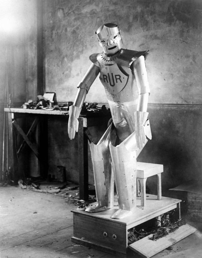 Eric, the UK's first robot.