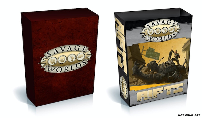Rifts® for Savage Worlds by Shane Hensley — Kickstarter