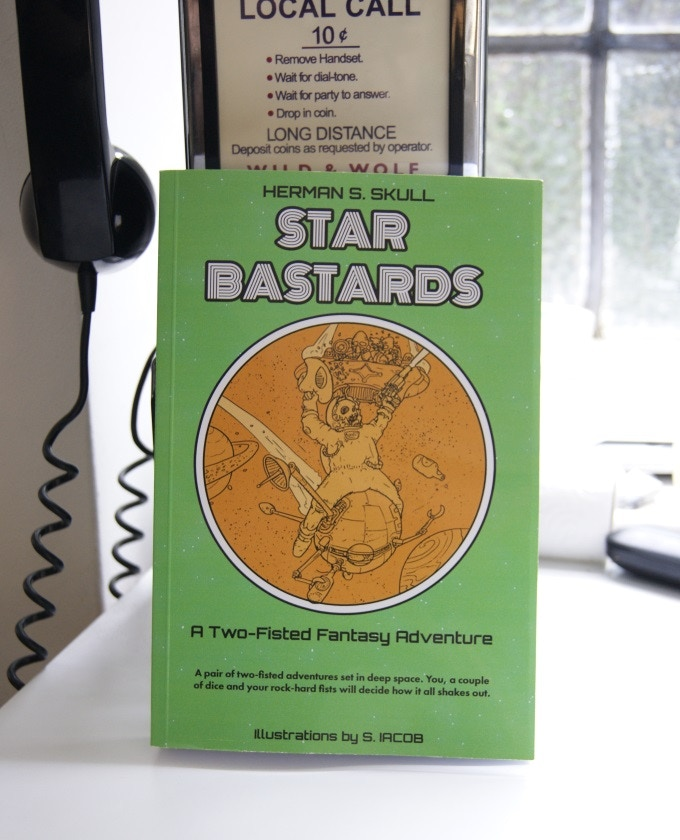 Star Bastards, in the flesh (or paper)