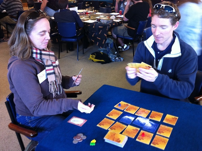 Jacqui and Nick played a number of rounds at the InkForge event, September 2015