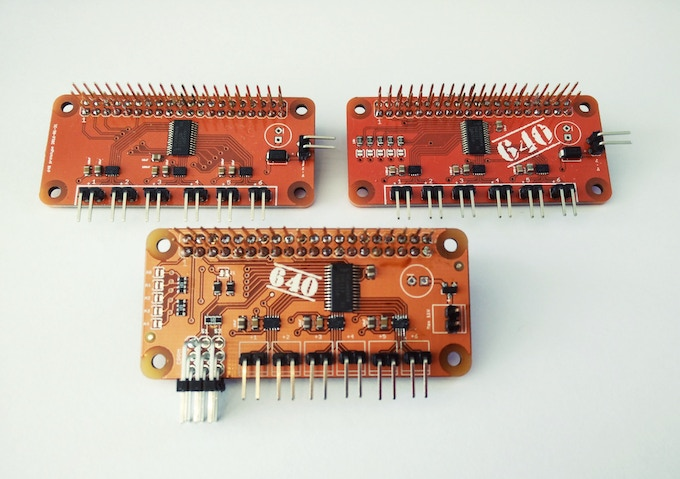 First three 640 Prototypes
