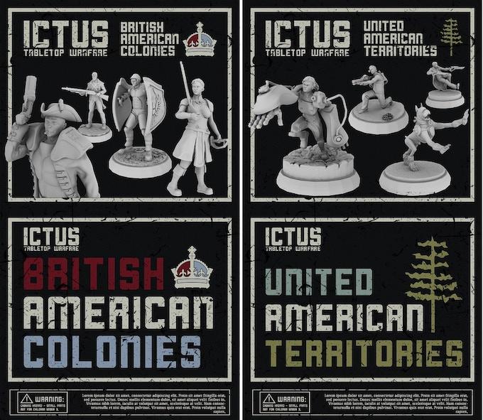 B.A.C. & U.A.T. Army Starter Sets