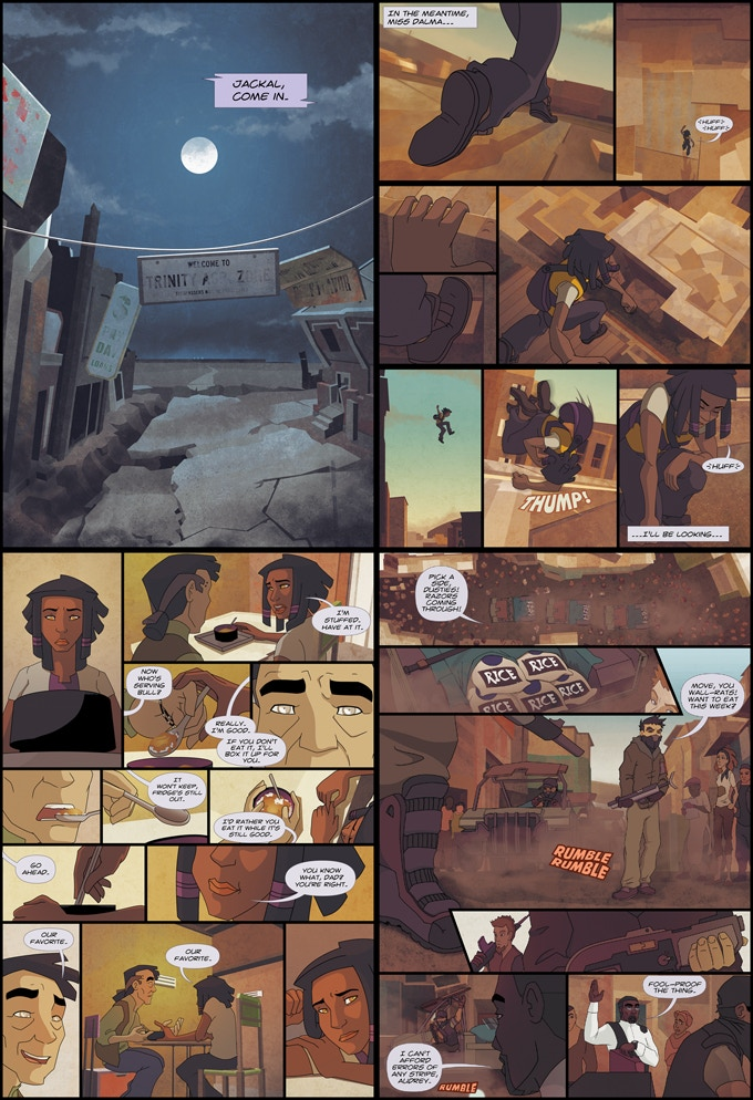 A small selection of pages from Volume 1