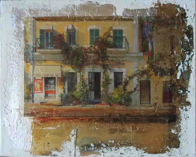 Mixed Media reward example, Cinque Terre