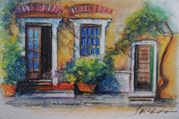 post card example, Cinque Terre