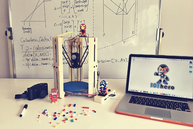 101Hero 3D Printer