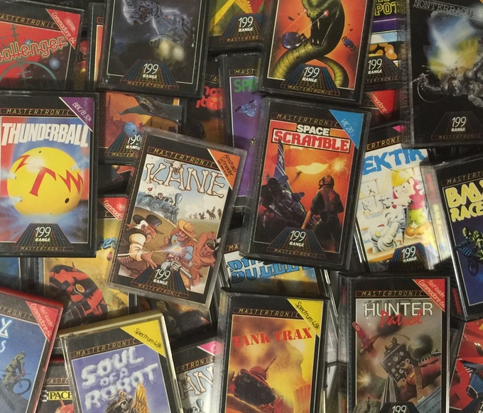 A sample of some of the games to be covered in The Mastertronic Archives