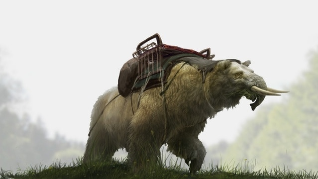 Concept art of Ursaphant mount