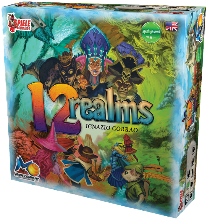 A Co-Op, Fantasy, Adventure, Board Game for 1-6 Players, Nominated by BGG with Extraordinary Miniatures by Upsteam Studio & CL Factory!
