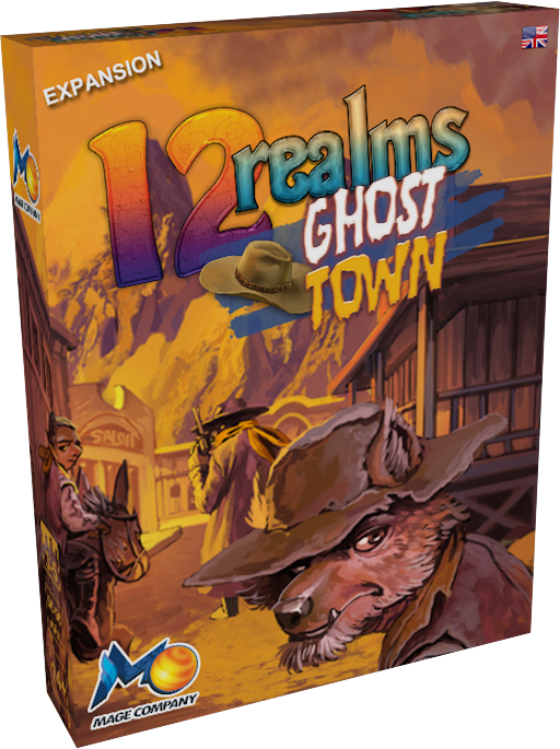 The epic journey continues as 12 Realms return with Ghost Town. Get ready to face bounty hunters and gravediggers in the Wild West!