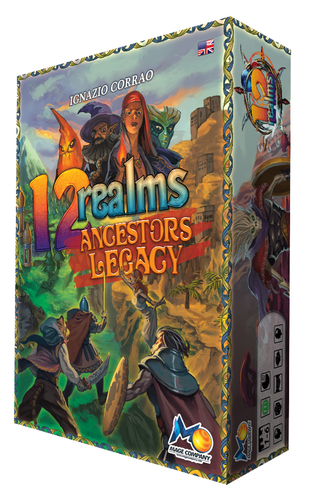 12 Realms returns with Ancestors Legacy adding new Minis, Scenarios & Mechanics for 1-7 players! A coop, fairy tale, miniature, game!