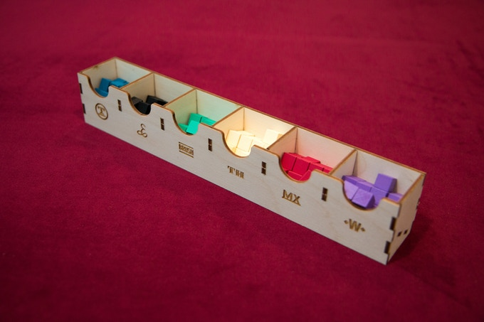 Removable Player Marker Tray
