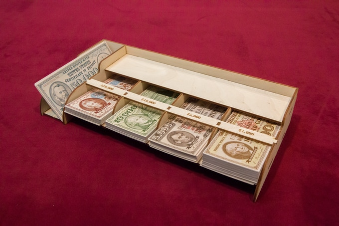 Removable Cash Tray - Voting Soon on Kickstarter Edition Exclusive Artwork