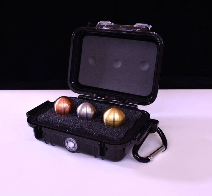 The Heavy Weight and Light Weight Sets will come with a Pelican 1010 case (Heavy Weight Set shown)