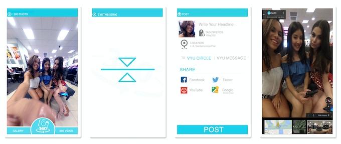 App Screenshots / Capture & Share