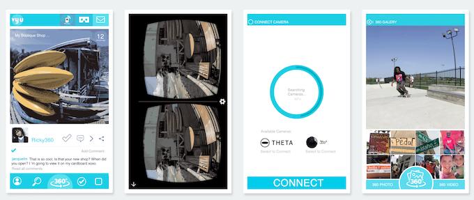 App Screenshots / WiFi Cam and VR